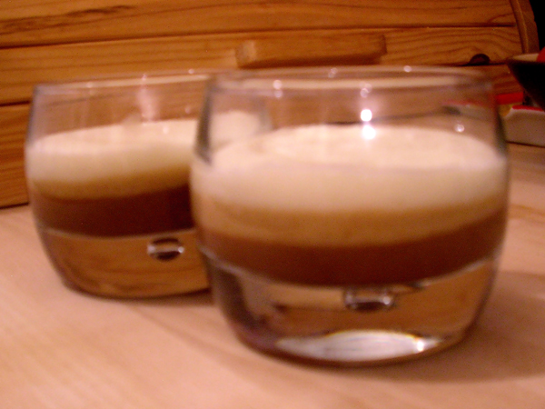 terrine 2 chocolats et café